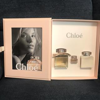 クロエ(Chloe)の訳あり新品!クロエ*ギフトボックス*オードパルファム・ボディーローション(香水(女性用))