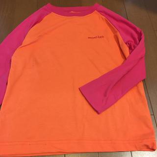 mont bell - モンベル キッズ ウィックロン ロングスリーブTシャツ 120