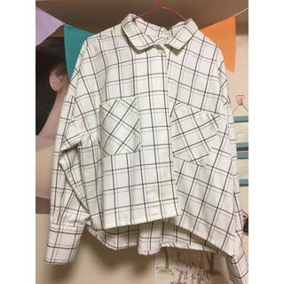 ヘザー(heather)のカイキンワイドシャツ長袖 (シャツ/ブラウス(長袖/七分))