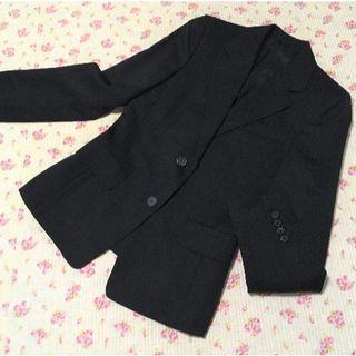 アンタイトル(UNTITLED)のアンタイトルオンクローゼット パンツスーツ 上2下1 W74 黒 OL ビジネス(スーツ)