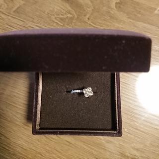 ダイヤ0.56ct お花のリング(リング(指輪))