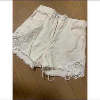 リエンダ(rienda)の♡ホワイトデニムショーパン♡(ショートパンツ)
