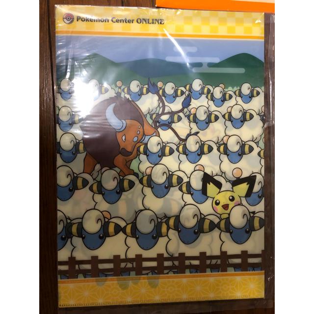 ポケモン(ポケモン)のポケモン センター オンライン 非売品 クリアファイル チケットホルダー エンタメ/ホビーのおもちゃ/ぬいぐるみ(キャラクターグッズ)の商品写真