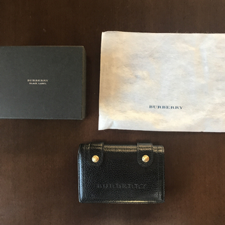 バーバリーブラックレーベル(BURBERRY BLACK LABEL)のバーバリーブラックレーベル 折財布(財布)