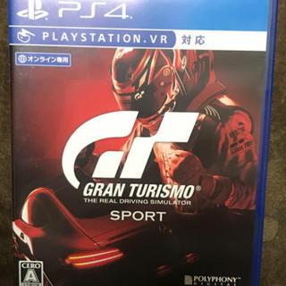 PlayStation4 - グランツーリスモ sport