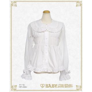 BABY,THE STARS SHINE BRIGHT - クーポン期間限定特価 BABY ベビードールブラウス