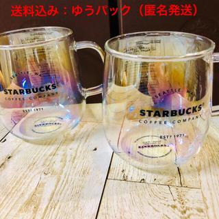 Starbucks Coffee - スターバックス●耐熱マグラスター●2個セット!!