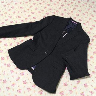 オリヒカ(ORIHICA)のオリヒカ パンツスーツ 9 W76 黒 ストレッチ OL ビジネス(スーツ)