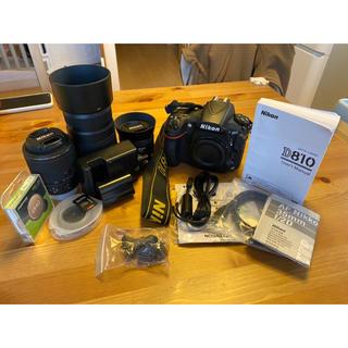 Nikon - 仮置]Nikon D810 ボディ&レンズセット