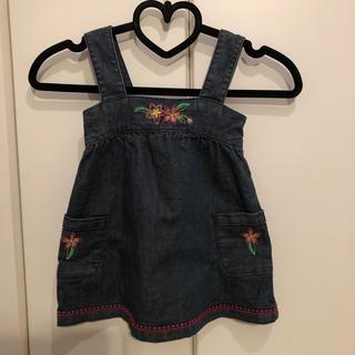 babyGAP - デニム ジャンパースカート 90
