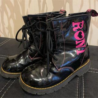 ロニィ(RONI)のRONI ロニィ ブーツ 黒(ブーツ)