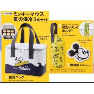 ミッキーマウス(ミッキーマウス)のミッキーマウス お弁当保冷三点セット(弁当用品)