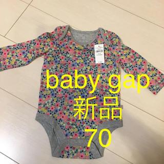 babyGAP - ●新品タグ付き● baby gap ロンパース 花柄