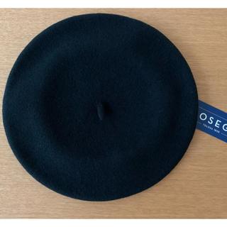 新品ベレー帽 エロセギ ブラック