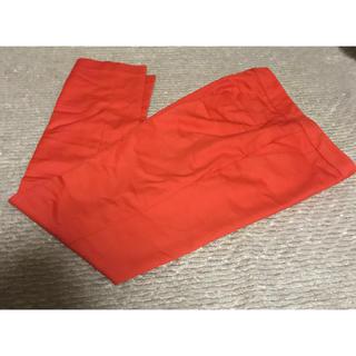パンツ オレンジ(カジュアルパンツ)