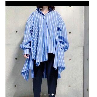 ENFOLD - エンフォルド 裾ボリュームシャツ