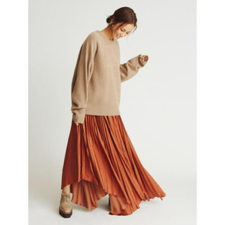 Mila Owen - ミラオーウェン 今期プリーツアシメトリースカート 未使用