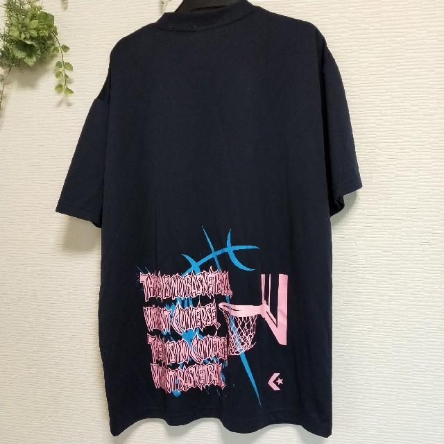 CONVERSE(コンバース)のバスケ Tシャツ コンバース Lサイズ スポーツ/アウトドアのスポーツ/アウトドア その他(バスケットボール)の商品写真