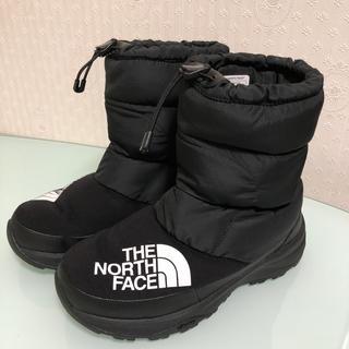 ザノースフェイス(THE NORTH FACE)のTHE NORTH FACE  美品 ヌプシ  スノーブーツ US6  24㎝(ブーツ)