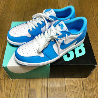 NIKE - 極美品 NIKE SB Air Jordan 1 Low UNC 27.5cm