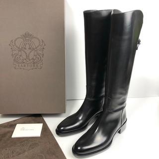 サルトル(SARTORE)の新品 37 SARTORE シングルベルト  ロングブーツ  黒 24(ブーツ)