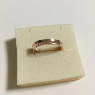 ヨンドシー(4℃)のk5 リング ✨ 5金 指輪 10号(リング(指輪))