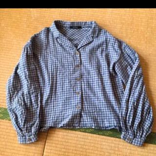 ダブルクローゼット(w closet)のダブルクローゼット チェックシャツ(シャツ/ブラウス(長袖/七分))