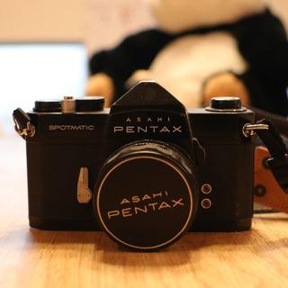PENTAX - 【本体+レンズ】ASAHI PENTAX SP●未使用フィルム付き●フィルム一眼
