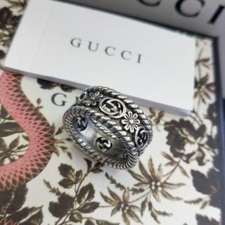 Gucci - 超美品 Gucciグッチ リング 指輪 男女兼用 6# ファッション