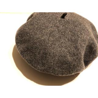 IENA SLOBE - ウールベレー帽 ほぼ未使用品