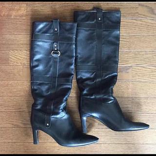 フェラガモ(Ferragamo)の15万程の品 サルヴァトーレフェラガモ ブーツ ブラック 黒(ブーツ)