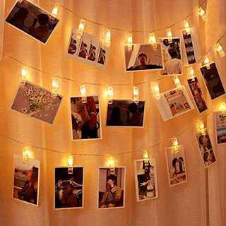 IREGRO 50Leds 6M 写真飾りライト DIY イルミネーションライト