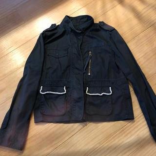 ユナイテッドアローズ(UNITED ARROWS)のユナイテッドアローズ 黒ジャケット  40サイズ(テーラードジャケット)