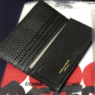 コムデギャルソン(COMME des GARCONS)のコムデギャルソン 黒革 長財布 新品(長財布)