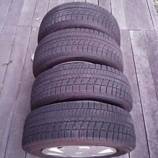 BRIDGESTONE - ブリザック WRX 185-65-14 スチールホイール付き4本セット