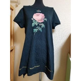 Vivienne Westwood - VivienneWestwood 限定品❗超希少❗薔薇 ローズTシャツ