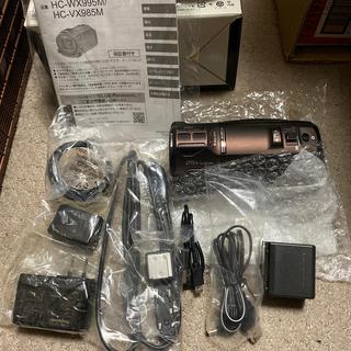 Panasonic - 【ほぼ未使用】パナソニック ビデオカメラ  4K HC-WX995M