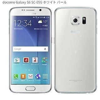 Galaxy - 《送料無料》ドコモ Galaxy ギャラクシーS6 SC-05G