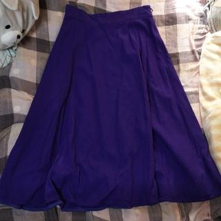 UNITED ARROWS紫スカートM*プロフ参照*