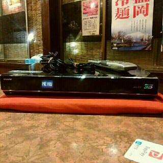 SHARP - ◎SHARP ブルーレイ BD-HDW63  2番組W録 320GB リモ等付❗