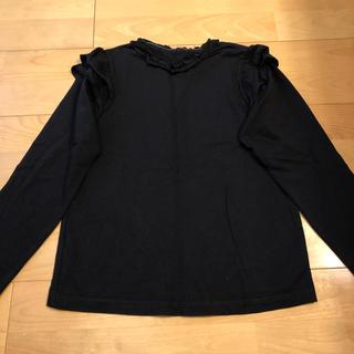 GU - ☆ GU ジーユー フリル カットソー 長袖Tシャツ 140
