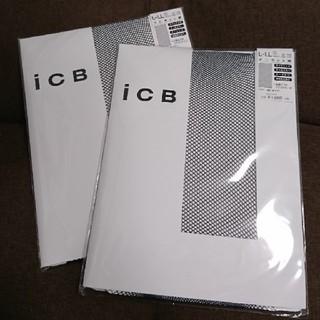 アイシービー(ICB)のiCB❤️ネット柄タイツ 大きいサイズ(タイツ/ストッキング)