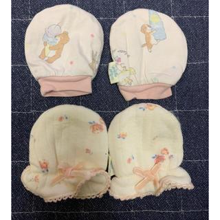 ジェラートピケ(gelato pique)のジェラピケ 新生児ミトンセット(手袋)