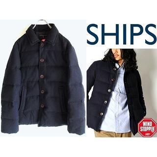 シップス(SHIPS)の名作 SHIPS WIND STOPPER ウールダウンジャケット M(ダウンジャケット)