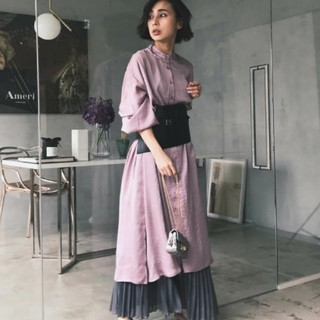 Ameri VINTAGE - アメリヴィンテージ 2WAY LUSTER GOWN DRESS