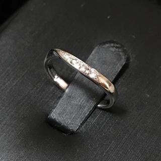 K18WG ピンキー リング☺︎(リング(指輪))