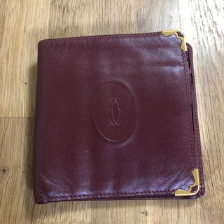 カルティエ(Cartier)のCartier カルティエ 二つ折り 財布(折り財布)