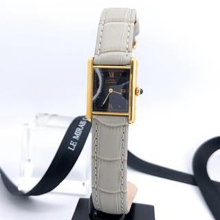Cartier - 【保証書付】カルティエ タンク ひし形ローマン文字盤 ゴールド 腕時計