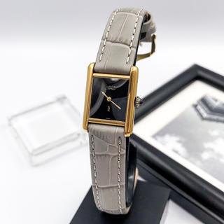 Cartier - 【仕上済/ベルト二色付】タンク SM ゴールド レディース 腕時計