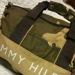 トミーヒルフィガー(TOMMY HILFIGER)のトミー・ヒルフィガーのミニボストン♪(ボストンバッグ)